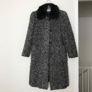 Madeline by Alorna Tweed Full Coat Size 4